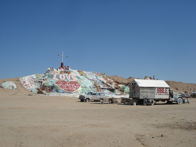 See more of my pictures from Salvation Mountain here