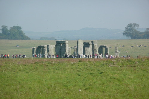 Stonehenge from Normanton Down