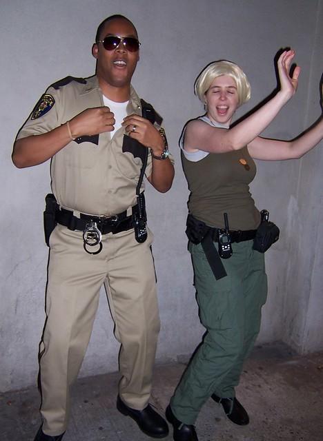 Reno 911 Halloween Costume.Halloween Masheka As S Jones From Reno 911 Mikhaela As Flickr