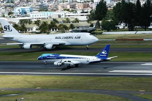 TAME LINEA AEREA DEL ECUADOR EMBRAER ERJ-190LR HC-CEZ(cn19000027)