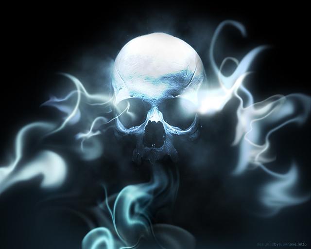 Smoking Skull - Wallpaper | Flickr - Photo Sharing!