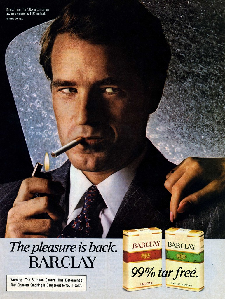 Barclay Advertisement - Time (Dec 28, 1981)