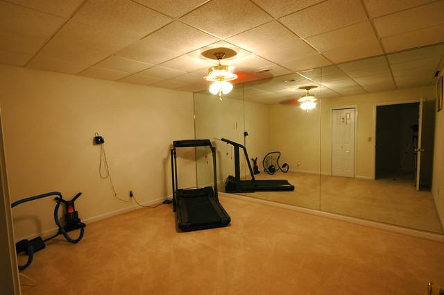 basement exercise room flickr photo sharing