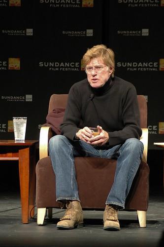 Robert Redford kicks off the Sundance Film Festival in Park City