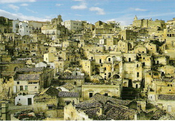 UNESCO - The Sassi and the Park of the Rupestrian Churches of Matera