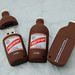 Red Stripe Custom Shaped USB Drives