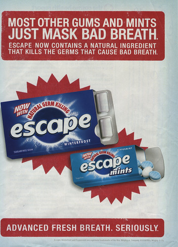 Escape Bad Breath