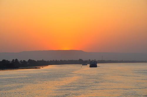 egypt 日落 nileriver 埃及 尼羅河