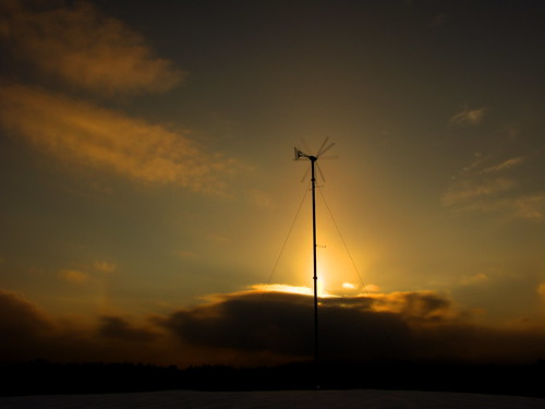 winter sunset sun snow windmill vermont sundown hdr blades randolphcenter canong9