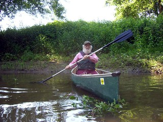 Pure water delight: paddling with Jim