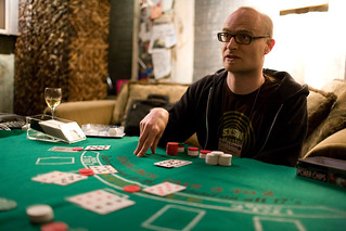 MC Frontalot Dealing Blackjack