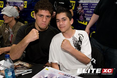 NIck Diaz and young grappler Blake