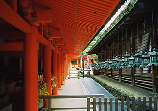 Game of Space and Colours, Kasuga Taisha Temple, Nara, Japan