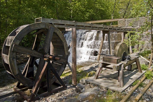 Marble Water Wheels : Water wheel and grind stone flickr photo sharing