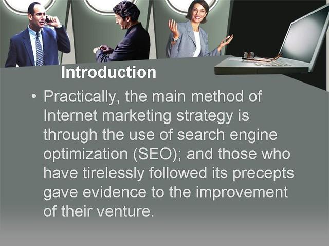 Internet Marketing Strategy Using Search Engine Optimizati ...
