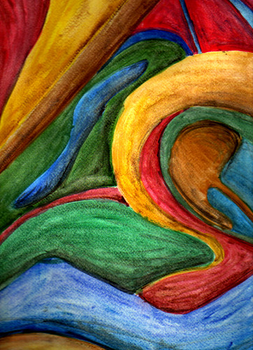 Tecnicas De Dibujo Pintura Abstracta Laurita Mza Flickr