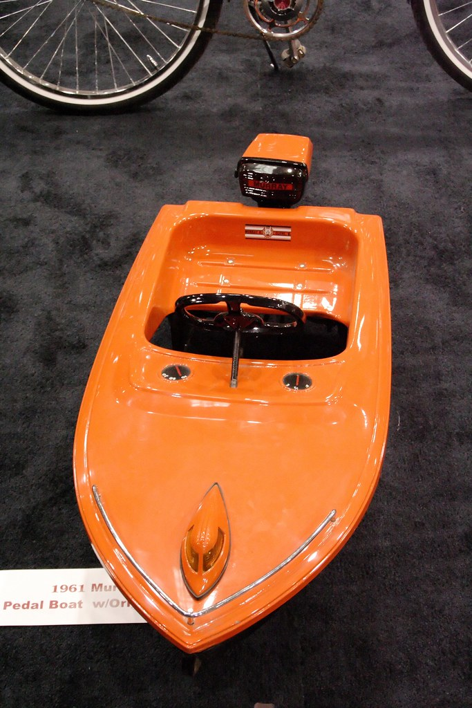 1961 Murray Pedal Boat With Original Motor