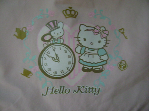 Hello Kitty Alice in Wonderland Tote