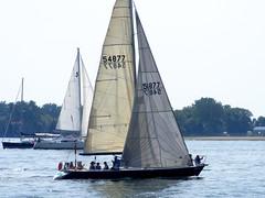 yacht racing, sail, sailboat, sailing, sailboat racing, keelboat, vehicle, sailing, sports, sea, windsports, mast, watercraft, scow, dinghy sailing, boat,