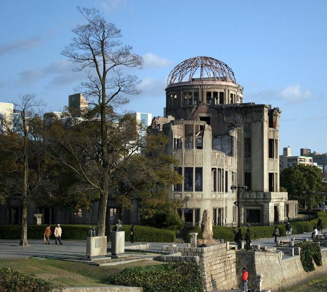 A-Bomb Dome - Hiroshima Peace Memorial - Hiroshima - Japan