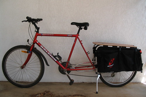 Xtracycle fitted