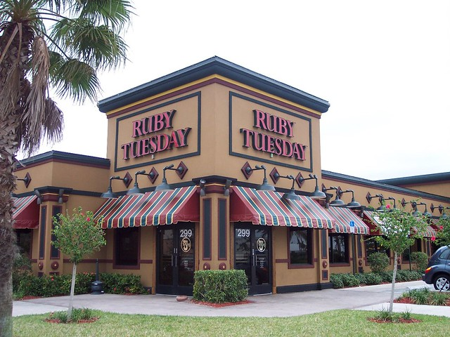 Ruby Tuesday Restaurant New Jersey Locations