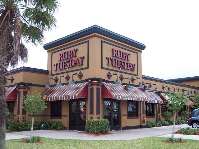 Ruby Tuesday Restaurant Cheektowaga New York