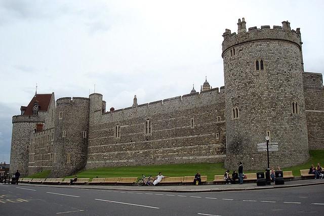 O castelo de Windsor / Windsor Castle