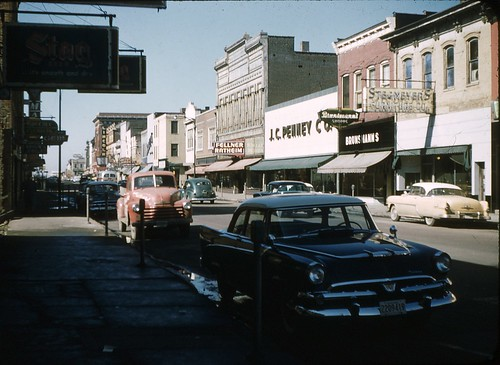 Belleville, Illinois Main St. 1958