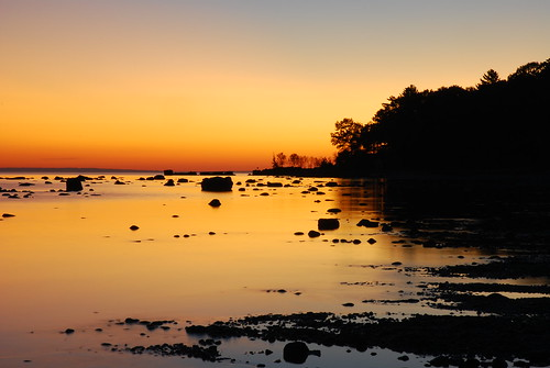 county travel trees sunset shadow ontario canada beach water bay sand nikon rocks georgianbay georgian simcoe simcoecounty d80 nikond80 nottawasagabay wahnekewaning