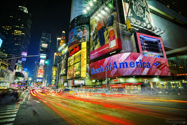 Times Square Light Flush & New York - a gallery on Flickr azcodes.com