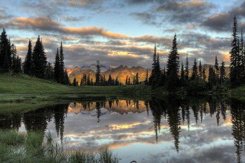 Tipsoo Lake Sunrise #2