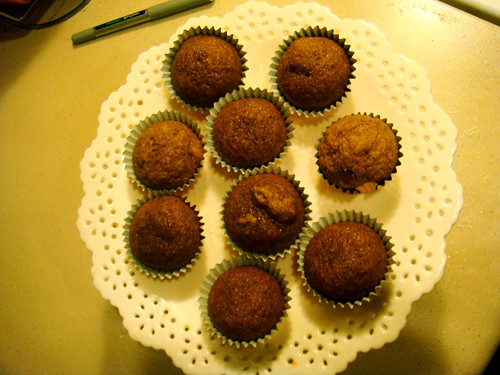 Pumpkin Muffins. Photo courtesy of Amy Gizienski via Flickr Commons