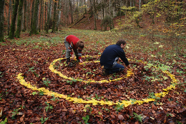Stage de Land Art (Automne) 26 photos