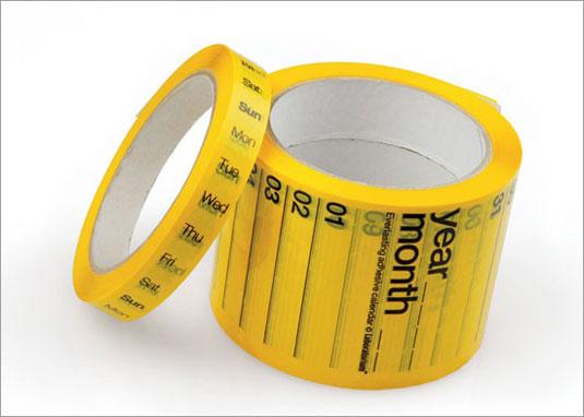 Calendar tape, design: Laboratorium