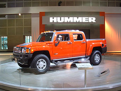 automobile, automotive exterior, pickup truck, sport utility vehicle, vehicle, truck, hummer h3, auto show, hummer h3t, bumper, land vehicle,