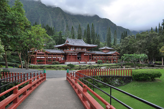 Byodo-in in Kaneohe Bay, United States