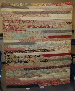 Betsy's Jelly Roll Race Quilt Top