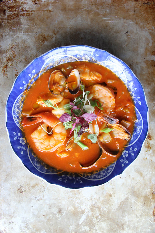 Spicy Seafood Chowder