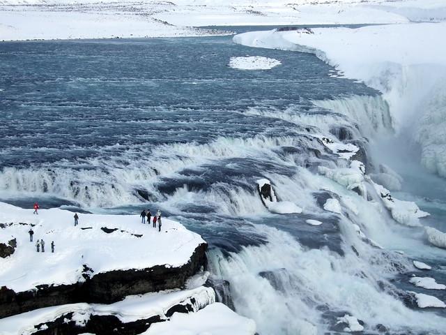 Catarata de Gullfoss, la cascada dorada de Islandia