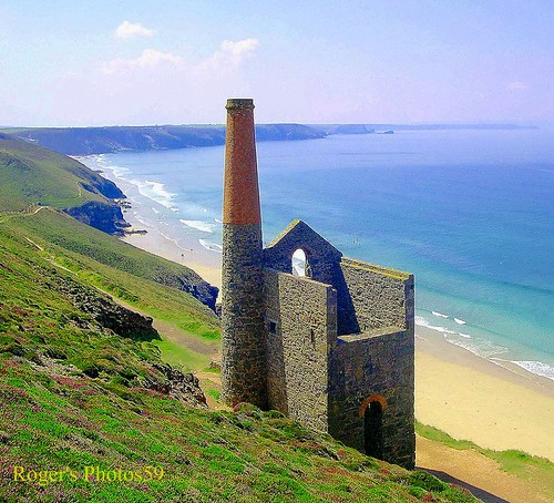 Wheal Coates Tin Mine.c19century.