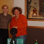 Nellie McKay with Rita in Studio A
