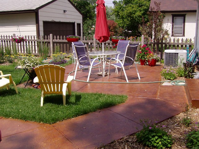 Patio Definition/meaning