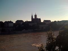 Münster Basel und Rhein