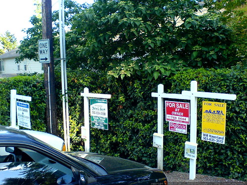 many more condo-for-sale signs posted in lake oswego - DSC01710
