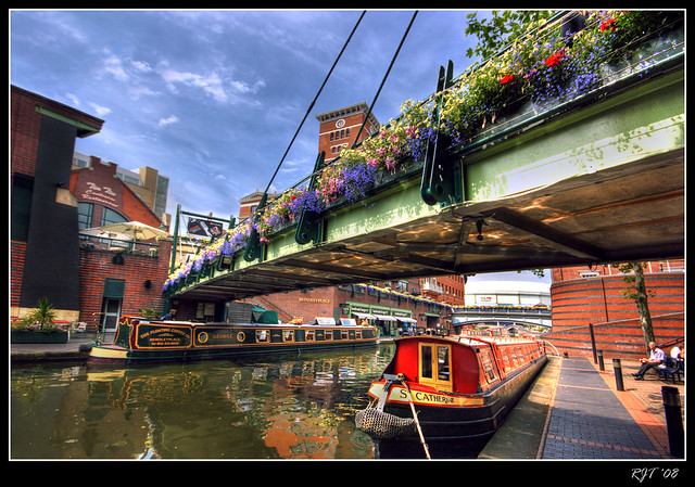 Canals At Brindley Place Birmingham Flickr Photo Sharing