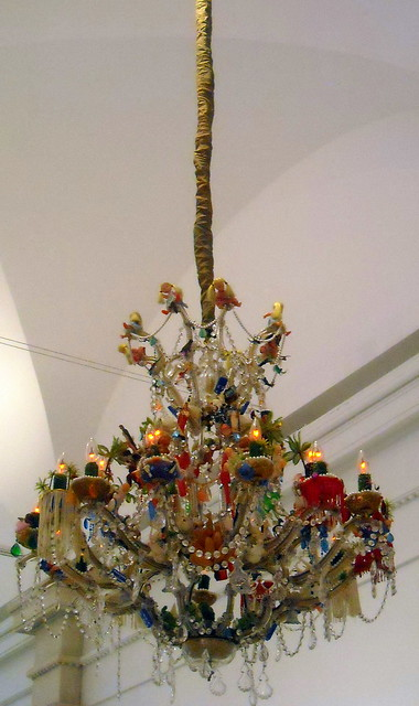 funky chandelier | Flickr - Photo Sharing!