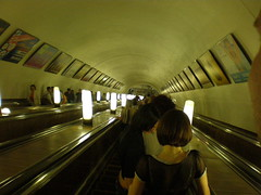 subway, escalator, infrastructure,