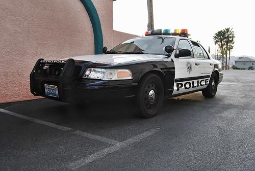 Las Vegas Metro Police Car