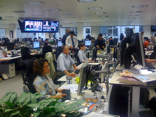 The Financial Times newsroom